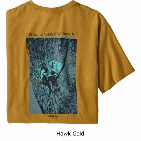 (パタゴニア)Patagonia Mens Granite Magic Pocket Responsibili Tee