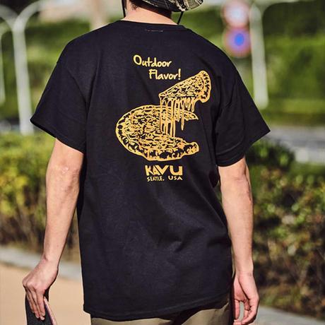 (カブー)KAVU ピザTシャツ