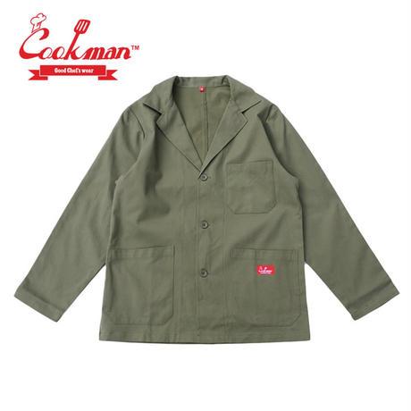 (クックマン)Cookman Lab.Jacket 「Khaki」