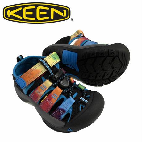 (キーン)KEEN KIDS NEWPORT H2 RAINBOW TIE DYE