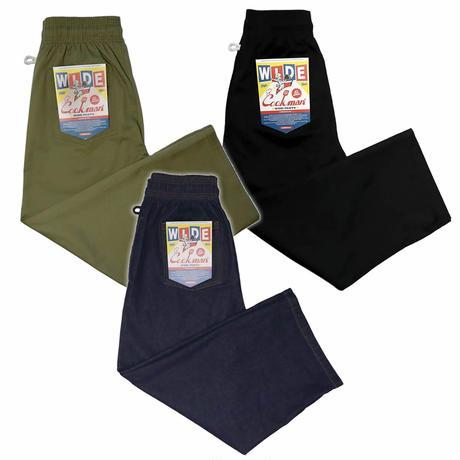 (クックマン)Cookman Wide Chef Pants