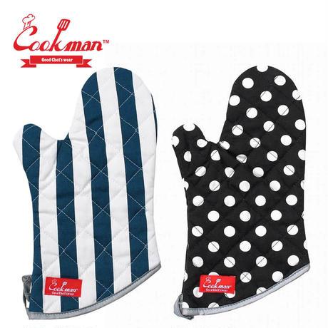 (クックマン)Cookman Mitten 「Wide stripe」「Dots」 1PCS