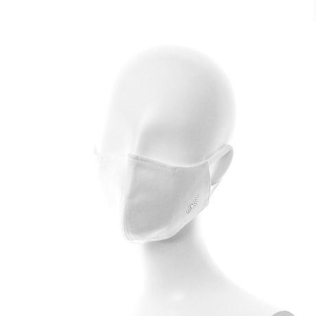 抗ウイルス性不織布内蔵 ラインストーンイニシャルマスク白/ユニセックス #1866
