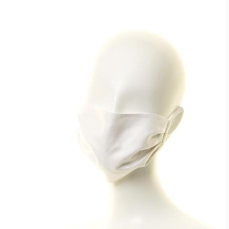 抗ウイルス性不織布内蔵 白ヘリンボーン柄タック/ユニセックス #1855A