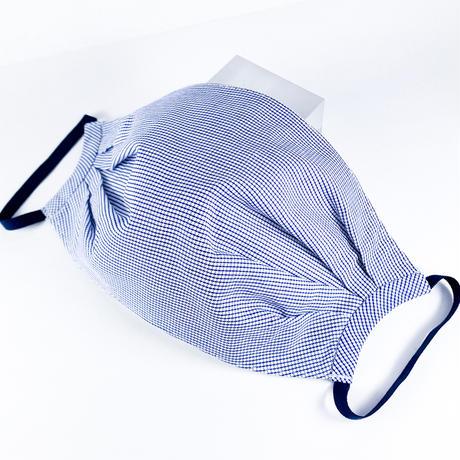 抗ウイルス性不織布内蔵 ブルーx白タック/ユニセックス #1859A