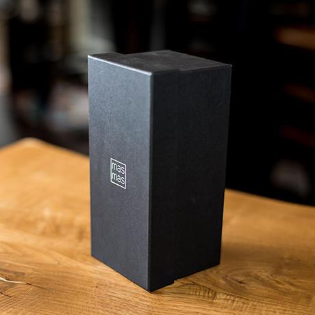 ロゴ付 黒のギフトBOX 1合用mas/mas/(マスマス)用 2個又は3個