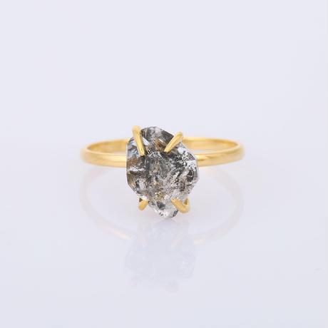 herkimer diamondリング
