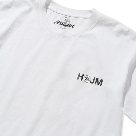 HMJM × Mastered オリジナルTシャツ(ホワイト)