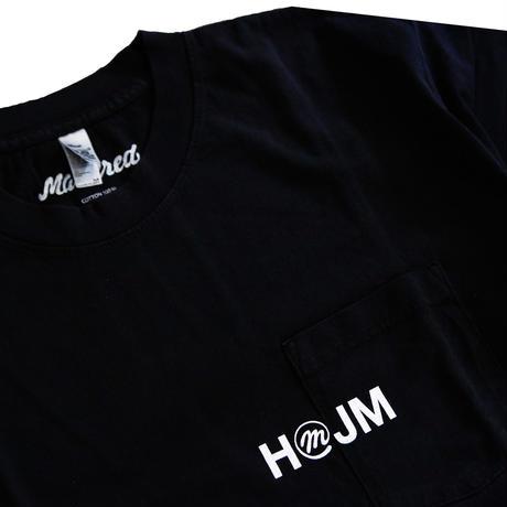 HMJM × Mastered オリジナルポケットTシャツ(ブラック)
