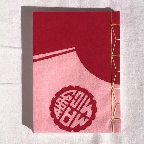 和綴じノート「扇ちらし B」