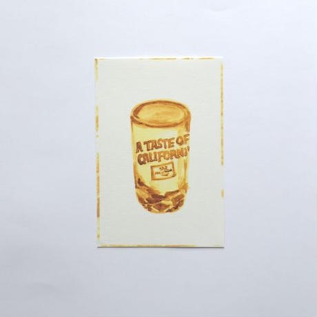 【POST CARD】INSTANT COFFEE DIARY
