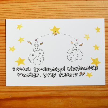 【POST CARD 5枚組】five senses
