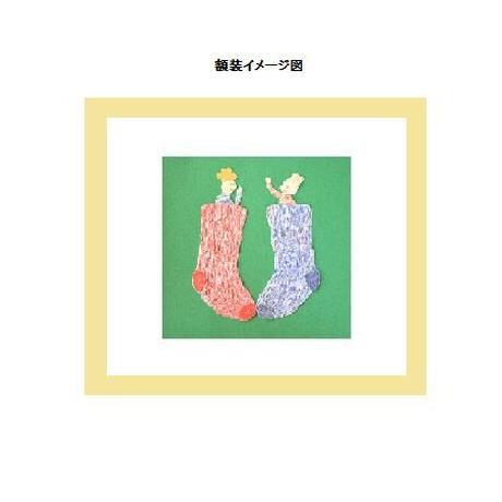【貼り絵】HELLO (edition1)