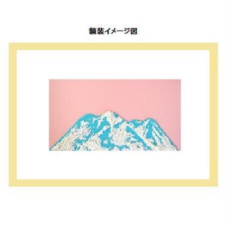 【貼り絵】moutain (edition1)