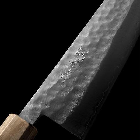 三徳和包丁|No.13 |VG1ステンレス  鍛造槌目  モラド白
