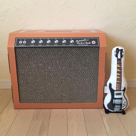 またたびロックンロール ギターアンプ オーカー(爪とぎ)  とお好きなベースのセット