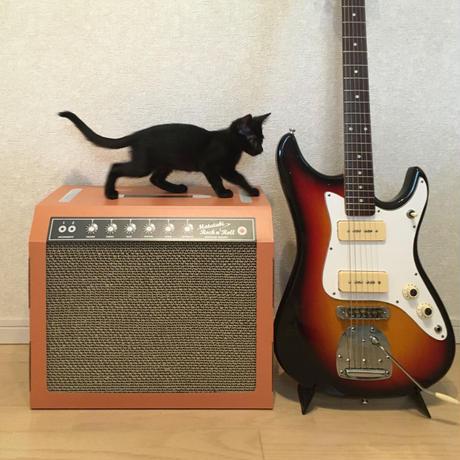 またたびロックンロール ギターアンプ オーカー(爪とぎ)  2個セット