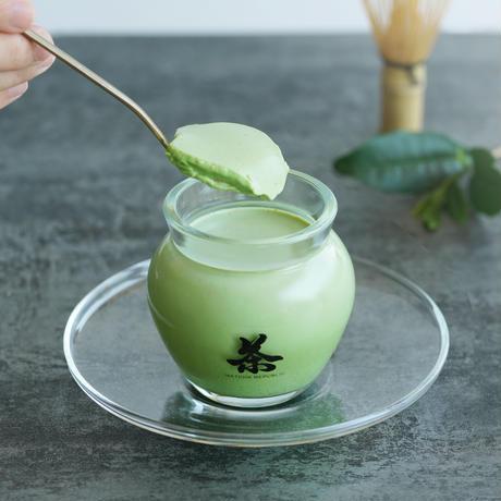 茶壺の抹茶パンナコッタセット【お渡し紙袋つき】