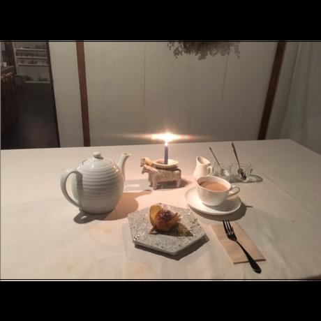 10月のLESSON|B 15:00【ボタニカルキャンドル | 2個】