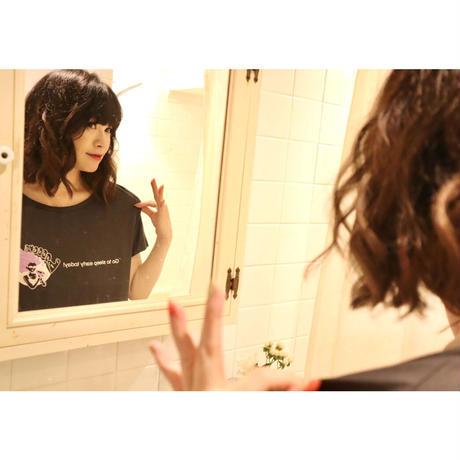 「ドライな女」Tシャツ(レディースサイズMのみ)