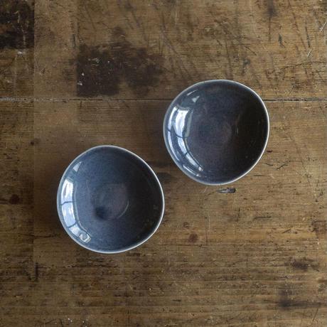 ヨーガンレール ババグーリ 瑠璃色の薄手陶器(豆皿)