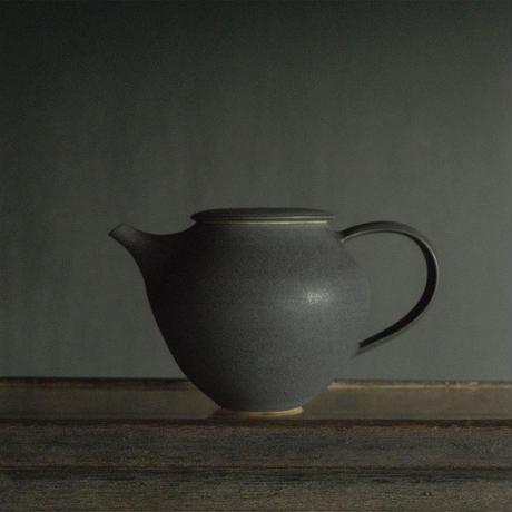 安藤由香 ティーポット ネイビー