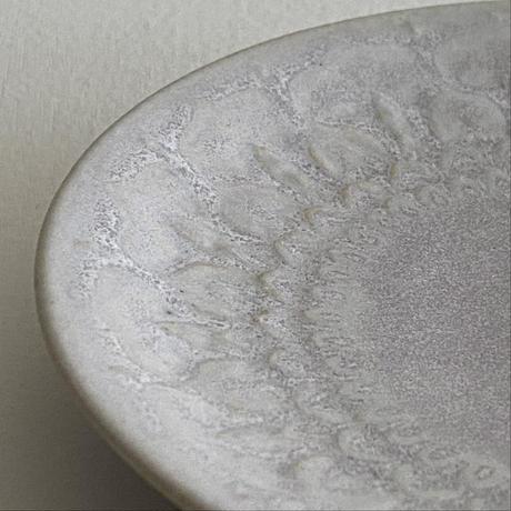 生形由香 刻紋小皿
