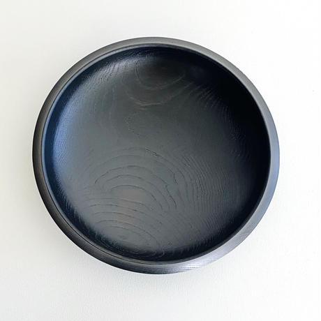 後藤睦 絞り鉢(黒漆)