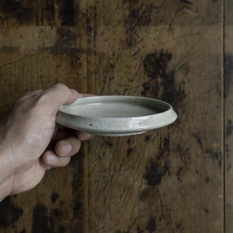 林拓児 貫入折口小皿