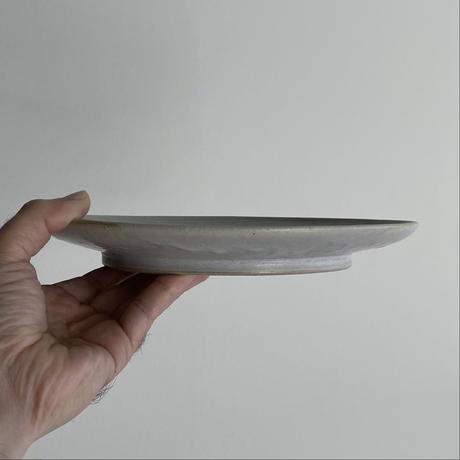 生形由香 陽刻鹿紋8寸皿