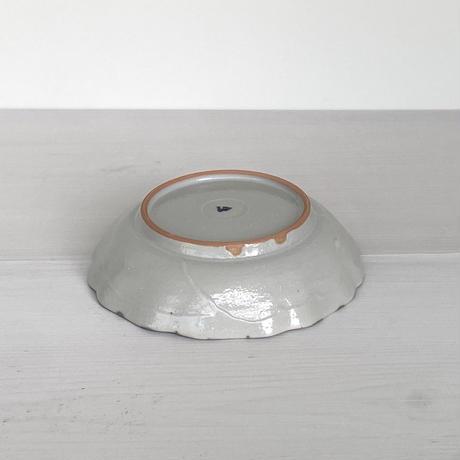 安齋新厚子 白磁染付なます皿