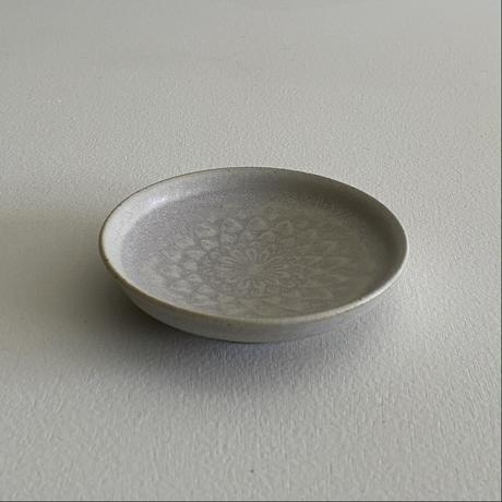 生形由香 刻紋豆皿