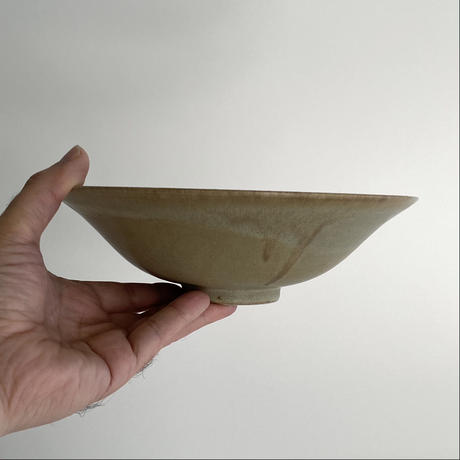 生形由香 印刻紋朝顔鉢