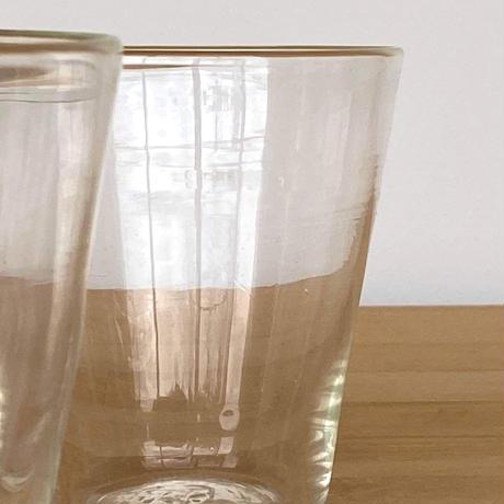 晴耕社ガラス工房 吹きガラスのコップ