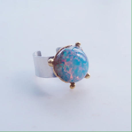 vintage ring opal