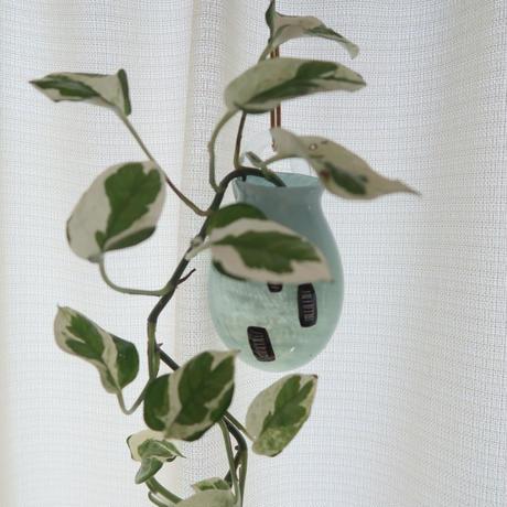ひっかけ花器 ミント