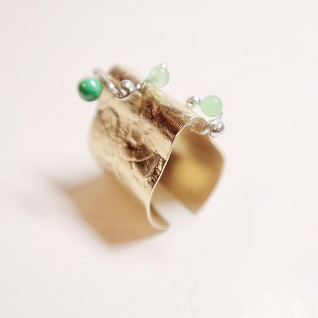 ivy  gold  ring