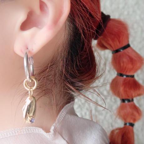shell  foop  lavender  (pierce  earring)