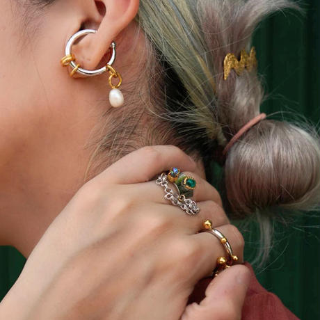 shell ear cuff (2セット)