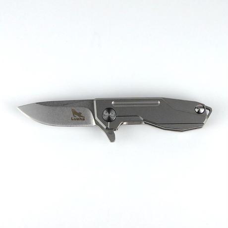 Luchs(ルークス )チタンハンドル  スーパーミニナイフ【LCM-13Ti 】アウトドア EDCツール