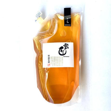 国産蜂蜜 -蜜匠シリーズ-  「とち」エコパック1,000g