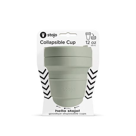 stojo POCKET CUP/ポケットカップ 12oz/355ml トールサイズ SAGE/セージ