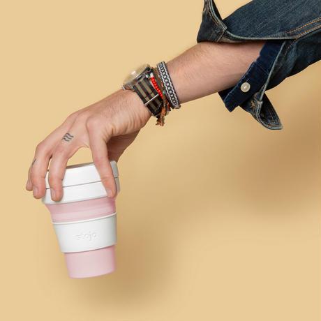 stojo POCKET CUP/ポケットカップ 12oz/355ml トールサイズ ROSE/ローズ