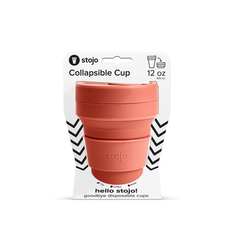 stojo POCKET CUP/ポケットカップ 12oz/355ml トールサイズ NUTMEG/ナツメグ
