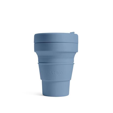 stojo POCKET CUP/ポケットカップ 12oz/355ml トールサイズ STEEL/スティール