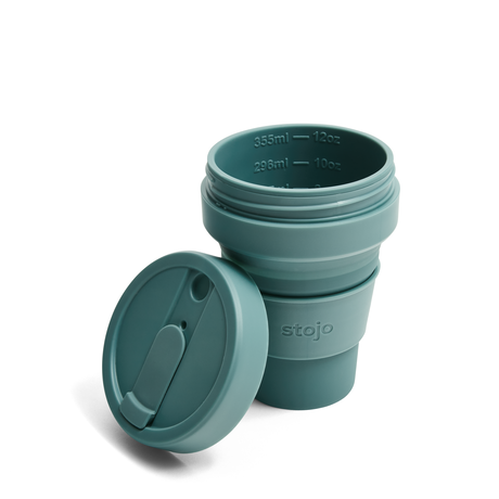 stojo POCKET CUP/ポケットカップ 12oz/355ml トールサイズ EUCALYPTUS/ユーカリ