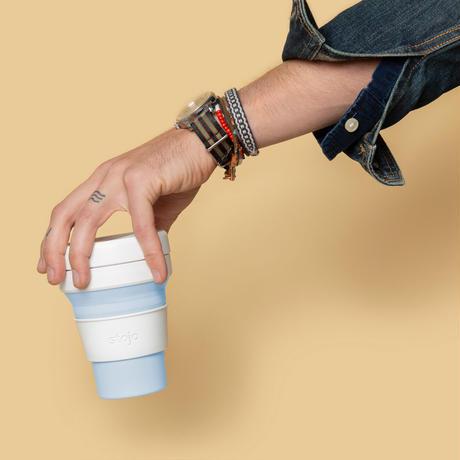 stojo POCKET CUP/ポケットカップ 12oz/355ml トールサイズ MINT/ミント