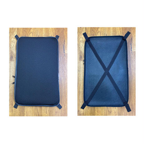 【ACCESSORY】BACK CUSHION WITH POCKET FOR L'ETOILE VIOLIN & VIOLA CASE(GREIGE)