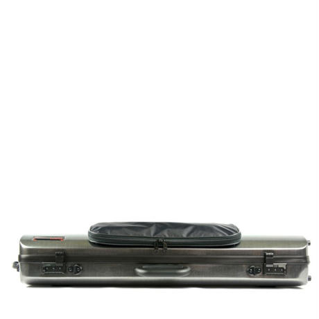 【VIOLIN CASE】HIGHTECH OBLONG WITH POCKET(CARBON SILVER)