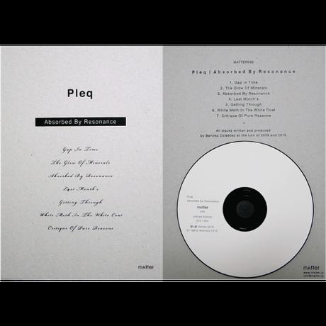CD | Absorbed By Resonance :: Pleq - MATTER005